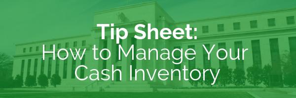 Cash Management Tip Sheet