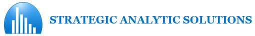 Strategic Analytics Solutions