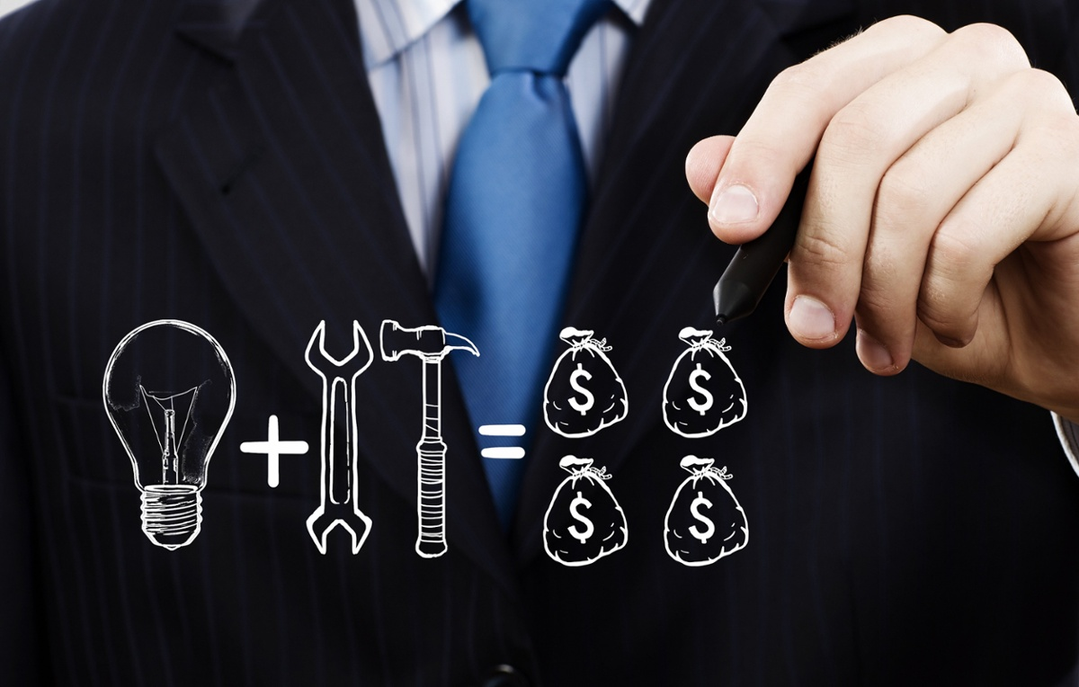 business man Cash and tools-1
